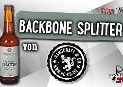 Backbone Splitter von Hanscraft & Co. | Craft Bier Verkostung #1323