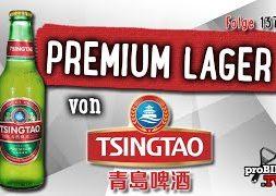 Premium Lager von Tsingtao | Bier Verkostung #1378