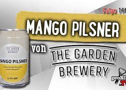 Mango Pilsner von Garden Brewery | Craft Bier Verkostung #1462