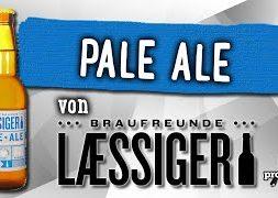 Pale Ale von Laessiger | Craft Bier Verkostung #1499