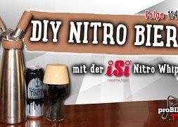 DIY | Nitro Bier selber machen | proBIER.TV – Craft Beer Review #1140 [4K]
