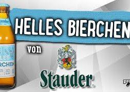Helles Bierchen von Stauder | Craft Bier Verkostung #1493