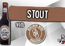 Stout von Berliner Berg | Craft Bier Verkostung #1505