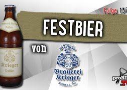 Festbier von Krieger Bräu   Craft Bier Verkostung #1373