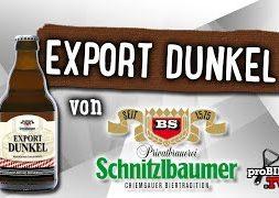 Export Dunkel von Schnitzlbaumer   Craft Bier Verkostung #1559