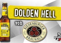 Dolden Hell von Riedenburger | Craft Bier Verkostung #1538