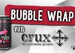 Bubble Wrap von Crux Fermentation | Craft Bier Verkostung #1579