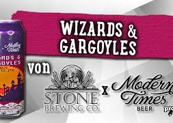 Wizards & Gargoyles von Stone x Modern Times | Craft Bier Verkostung #1635