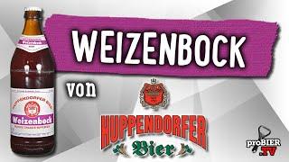 Weizenbock von Huppendorfer Bier | Craft Bier Verkostung #1681