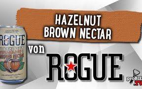 Hazelnut Brown Nectar von Rogue | Craft Bier Verkostung #1743