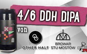 4/6 DDH Double IPA von Stu Mostow x Other Half | Craft Bier Verkostung #1740