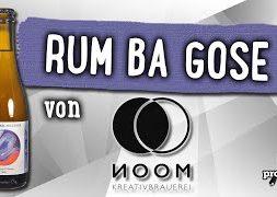 Rum Barrel Aged Gose von NOOM | Craft Bier Verkostung #1741
