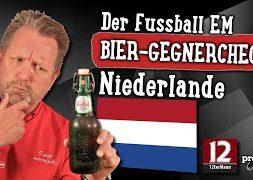 EM Bier-Gegnercheck | Grolsch Premium Pilsner aus Niederlanden | Bier Verkostung #1818